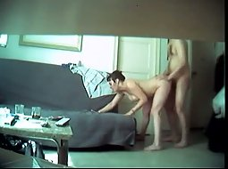 Voyeur living room