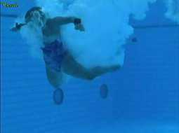 Underwater voyeuring