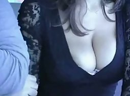 Hot lady and her pretty boobs