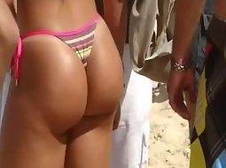 Sexiest ass in a thong bikini
