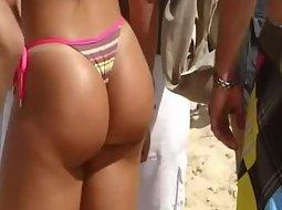 Sexiest ass in a thong bikini
