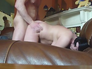 Cuckold's wife is dizzy after hard fuck