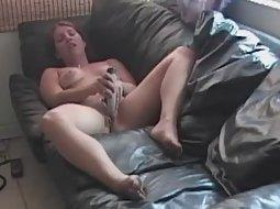 Wife dildo spy