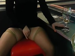 My horny wife in the casino
