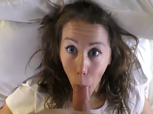 Incredible sex with horny beauty