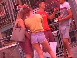 Harsh truth about such a hot little ass in shorts