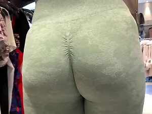 Ass in leggings deserves a close inspection