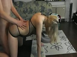 Doggy style sex with the girlfriend