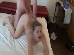 Cuckold found a guy to fuck her