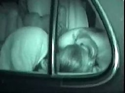 Hot sucking and fucking in the car