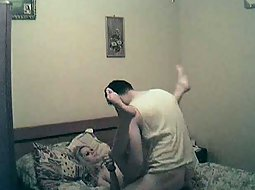 Romanian couple fucking at home