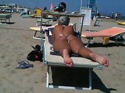 Best ass on the beach