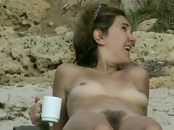 Spying a nude bush