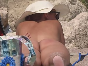 Nudist woman hot nice wide butt