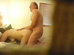 Spying on dad fucking mom