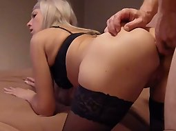 Fucking the girlfriend's ass