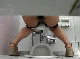 Toilet voyeur catches many women