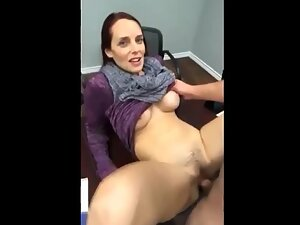 Mature woman tempted by young penis