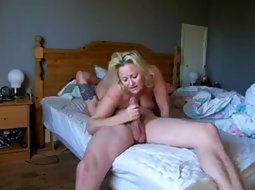 Wild fuck of a sexy couple