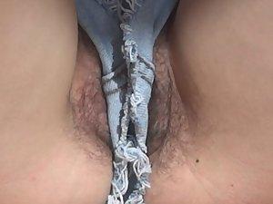 Beach pussy slips pics