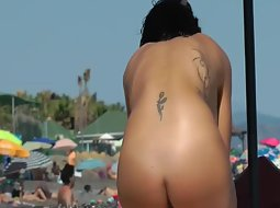 Nice tattooed back side