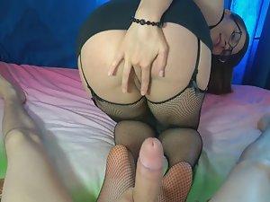 Girlfriend became naughty secretary