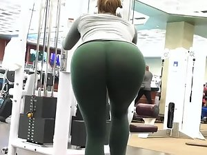 Best ass in the gym without a doubt