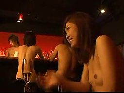 Japanese nudist bar