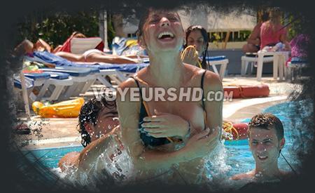 Pool girls voyeur videos